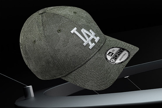 Los Angeles Dodgers Engineered Plus Olive 9FORTY