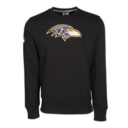 Baltimore Ravens Team Logo Crew Neck