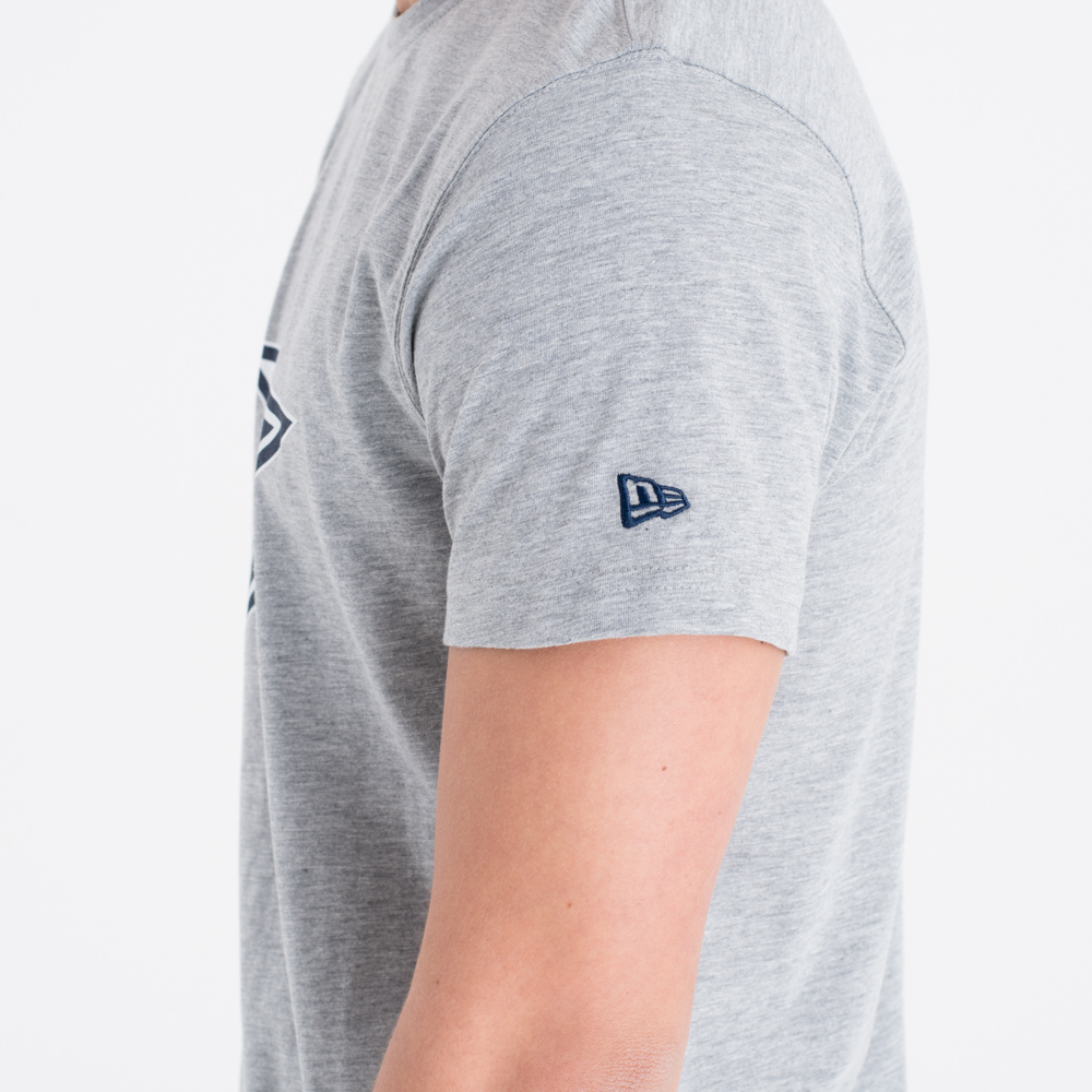Dallas Cowboys Team Logo Grey Tee
