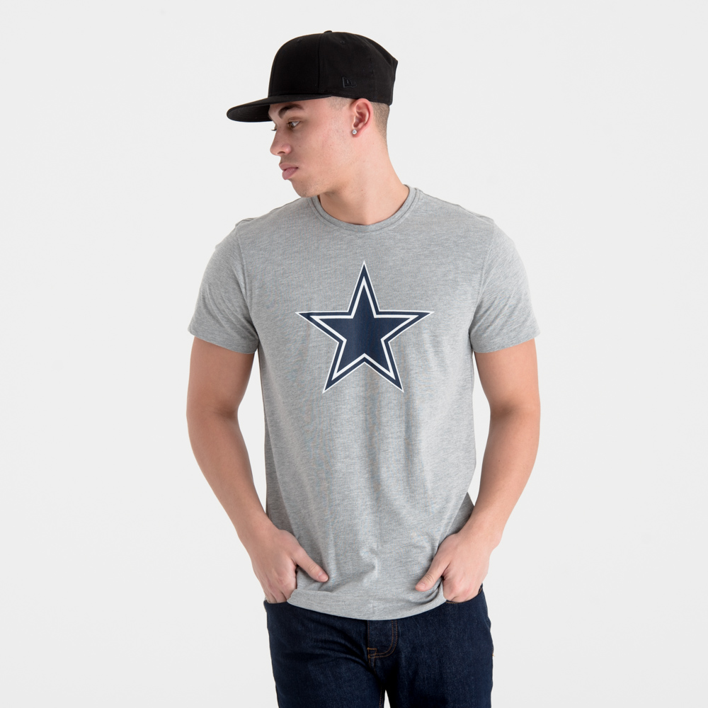 Grey NFL Dallas Cowboys Team Logo Joggers New Era