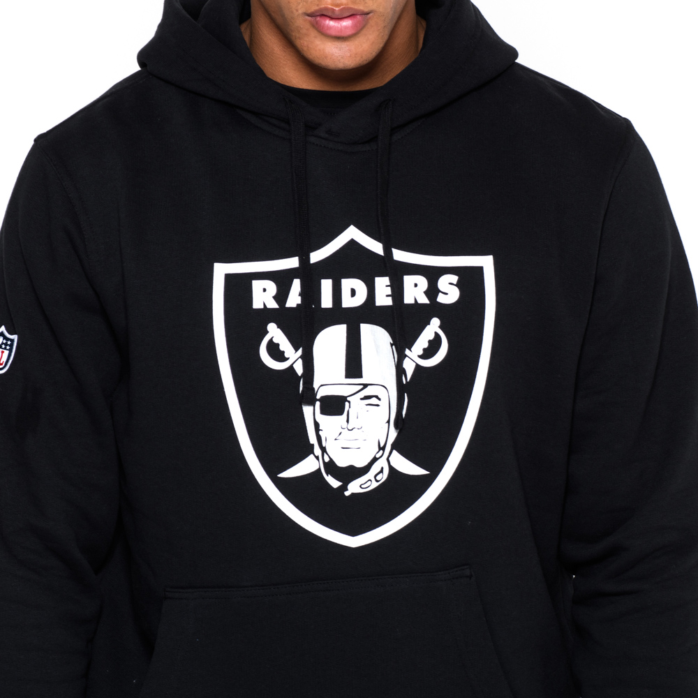 Wholesale Oakland Raiders Pullover Team Logo Black Hoodie | New Era  supplier