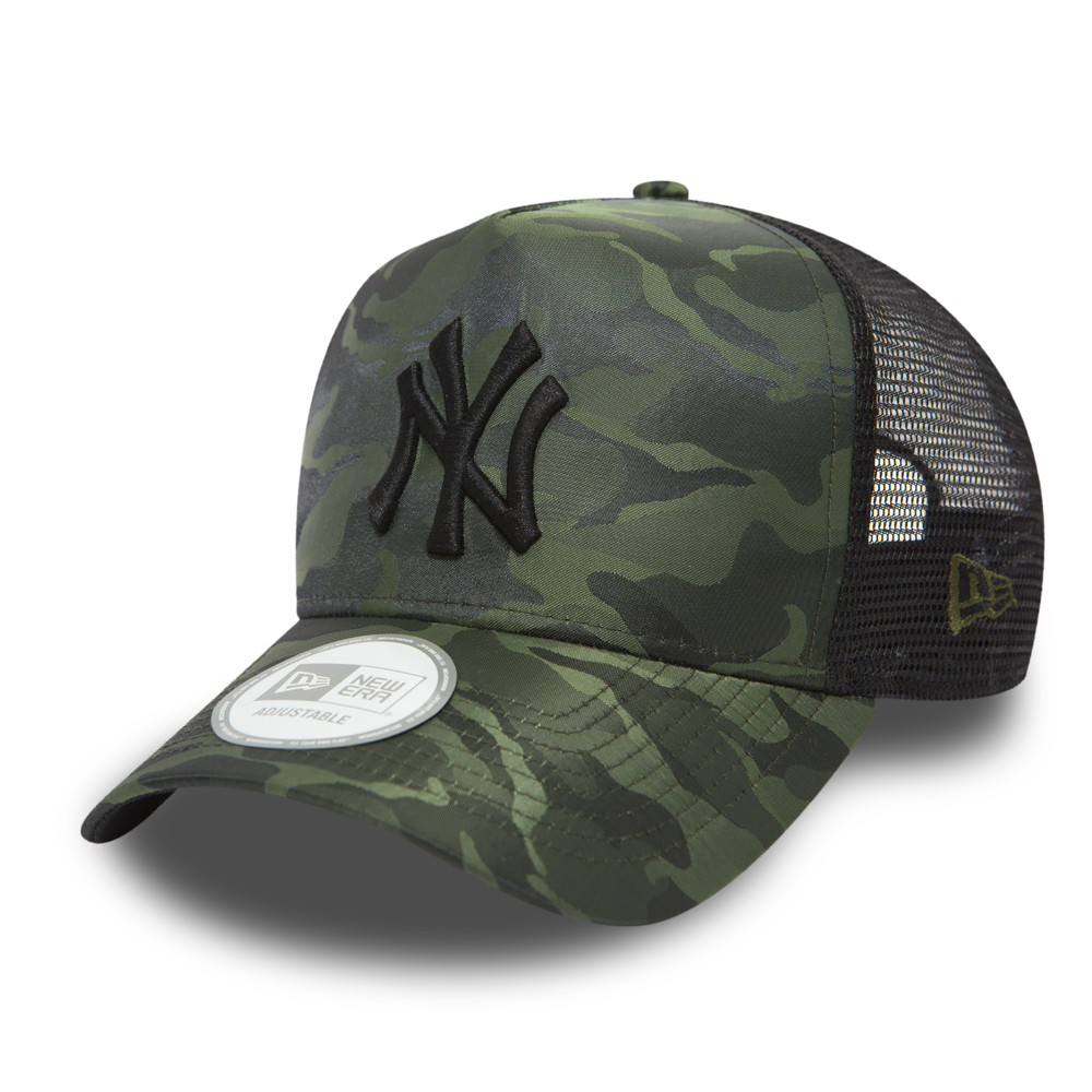 New Era Adjustable Trucker Cap NYLON New York Yankees