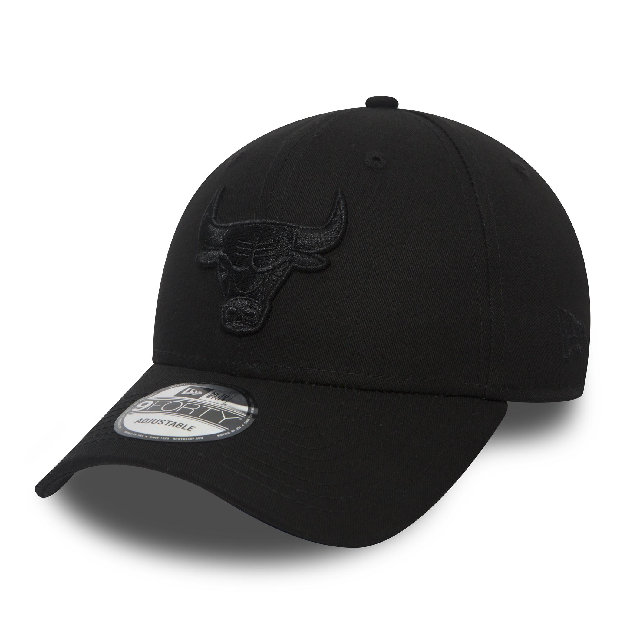 Chicago Bulls black camo New Era 9Forty Trucker Cap