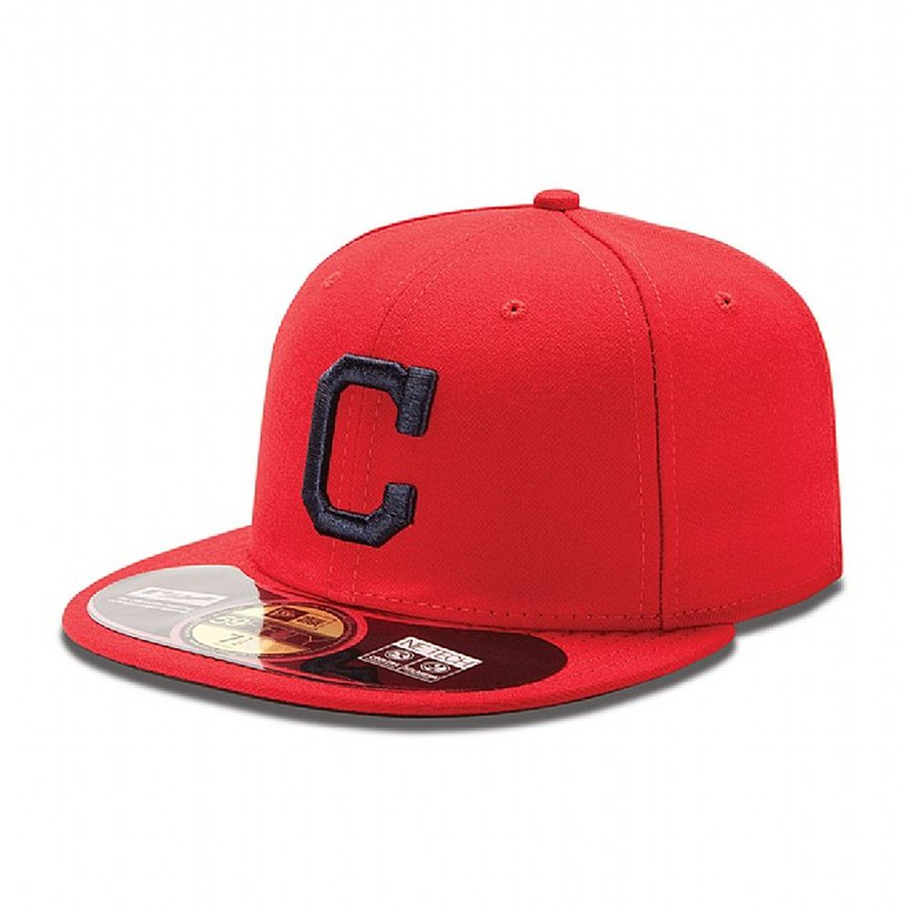34a9b59681b Cleveland Indians Authentic On-Field Alternate 59FIFTY