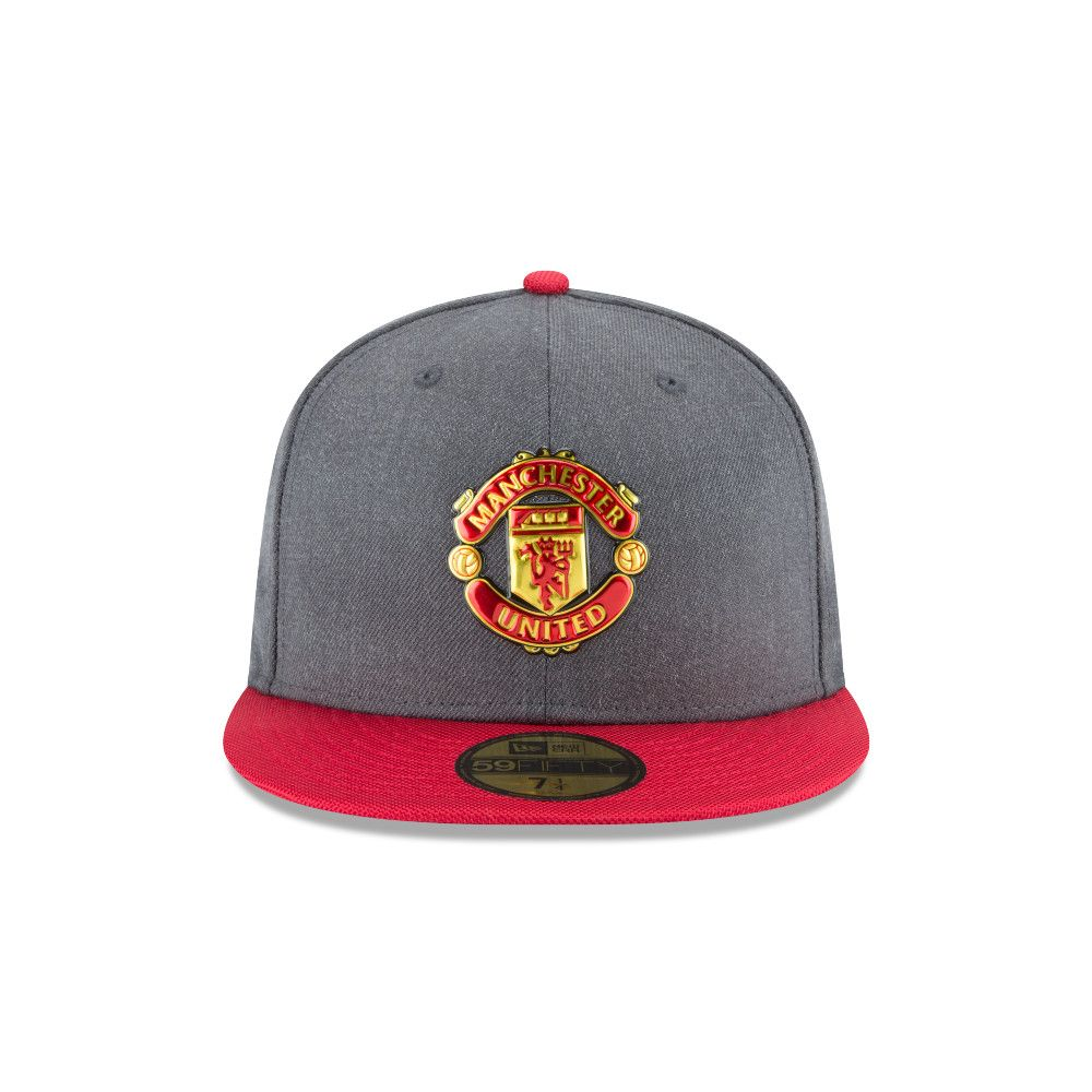 Manchester United Liquid Chrome 59FIFTY Manchester United Liquid Chrome  59FIFTY 4824f399f8b1