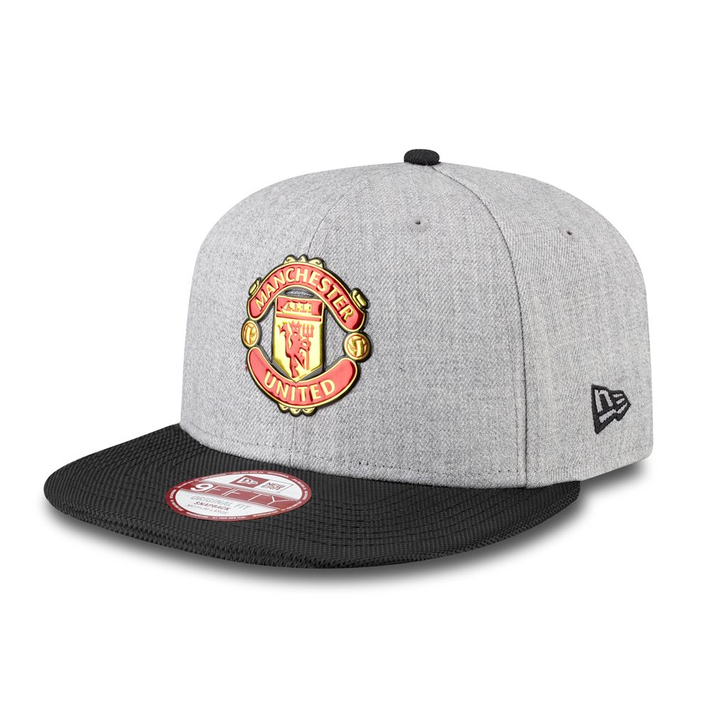 Manchester United Liquid Chrome 9FIFTY Snapback  d3b8eee58622