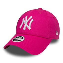 NY Yankees Fashion Essential Womens Pink 9FORTY