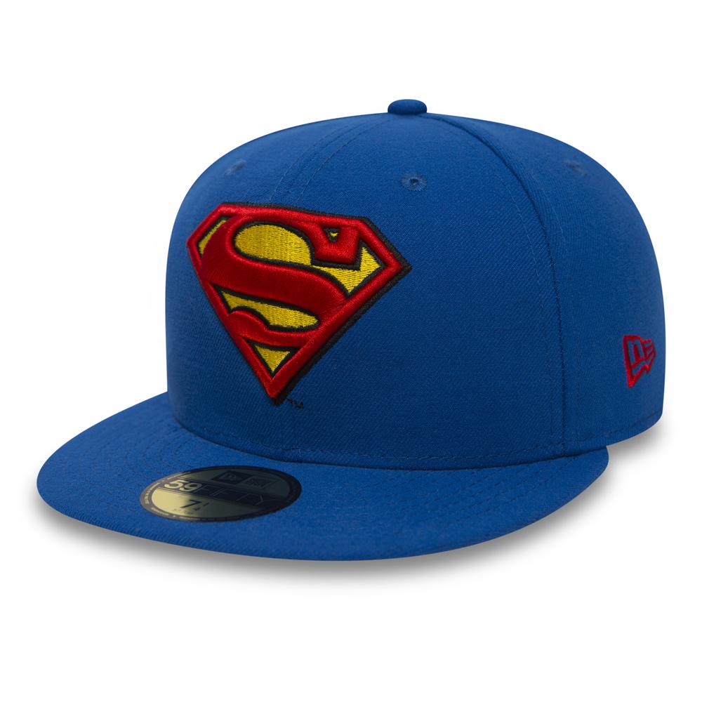 DC Comics New Era Kids Superhero Bobble Cuff Knit Hat