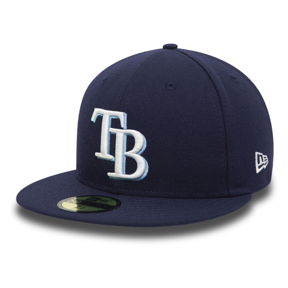 Tampa Bay Rays Game Team Structured 59FIFTY  9954d4e1441