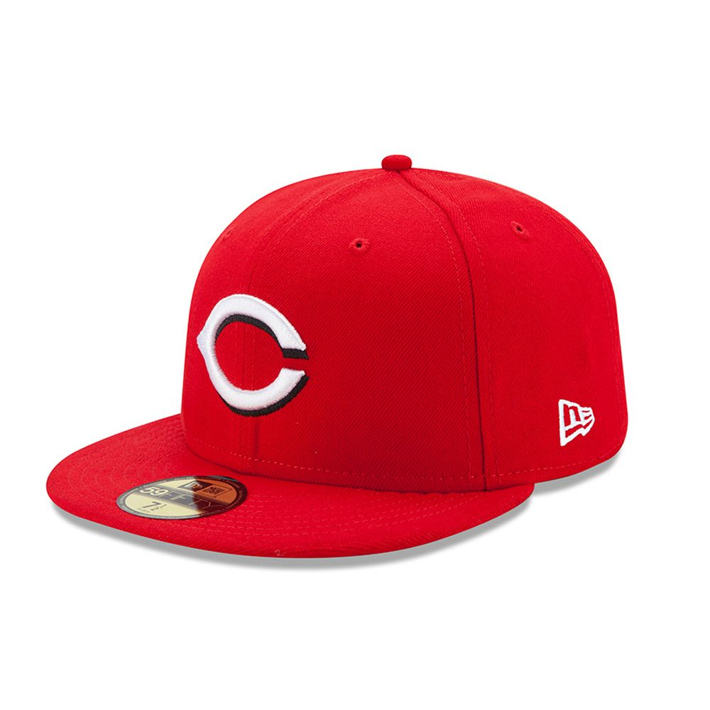 Cincinnati Reds Authentic On-Field Home Red 59FIFTY