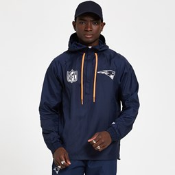 New England Patriots Blue Windbreaker Jacket