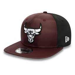 Chicago Bulls Ripstop Front Maroon 9FIFTY Cap