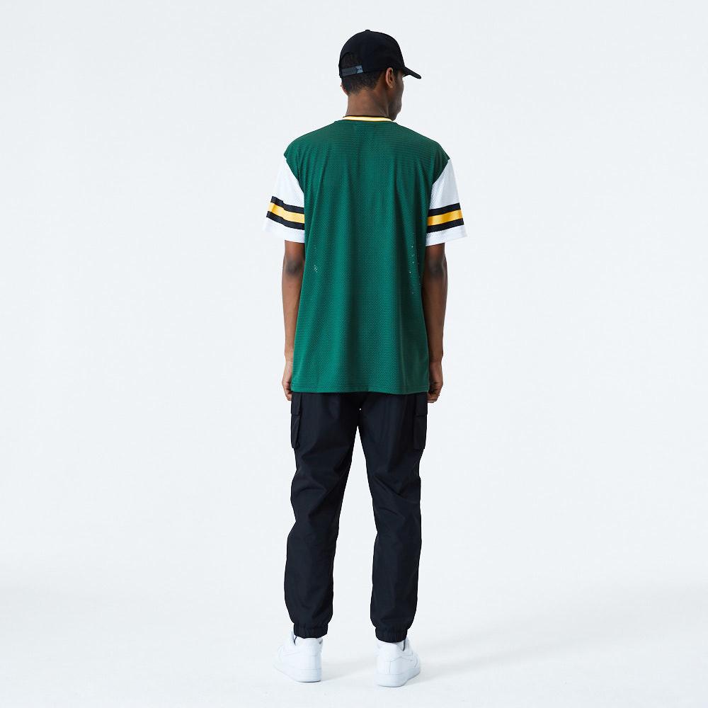 Green New Era Big Logo Back Green Bay Packers T-Shirt//Tee