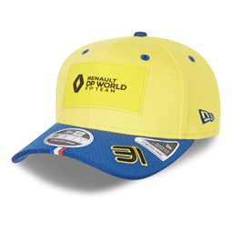 Renault Esteban Ocon 31 Blue Stretch Snap 9FIFTY Cap