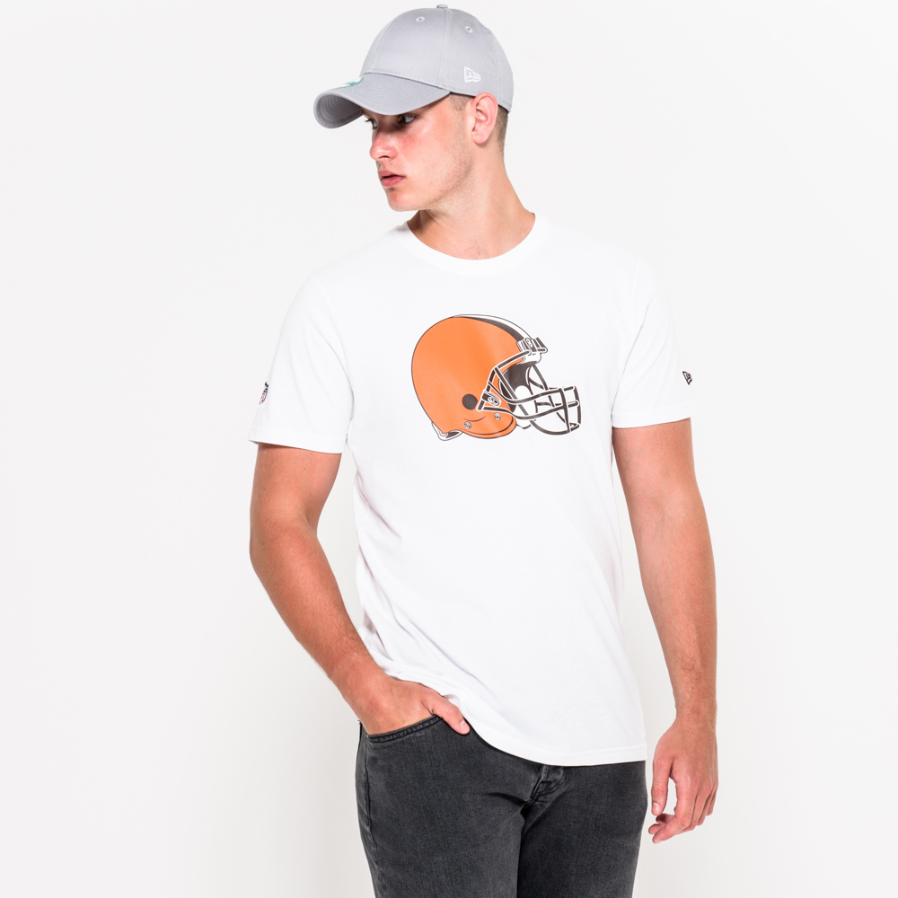Cleveland Browns Team Logo White Tee