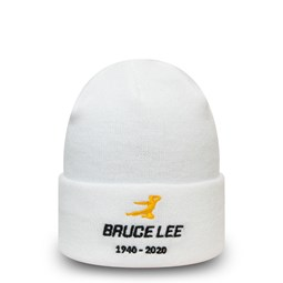 Bruce Lee 80th Anniversary Dragon Collection White Knit