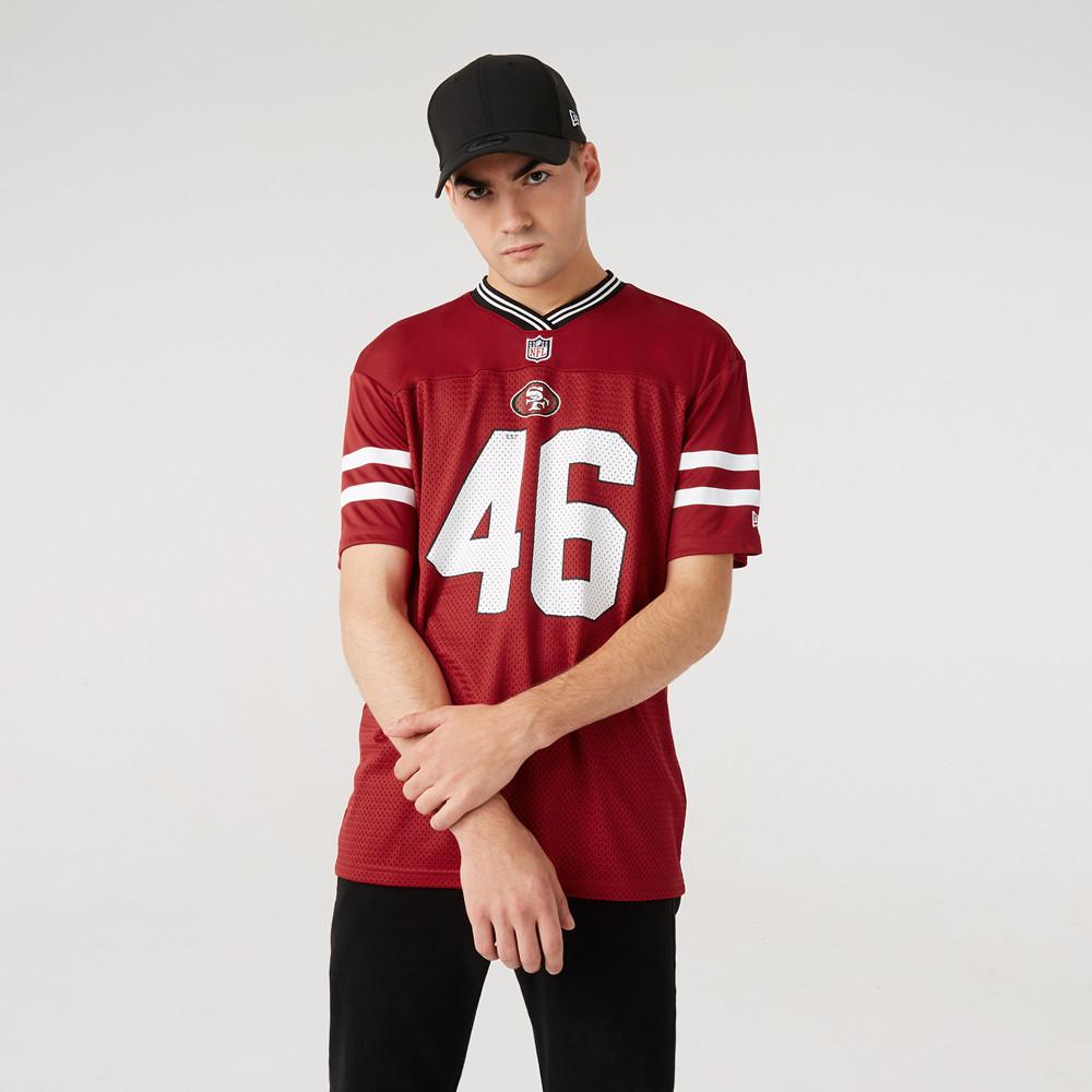 San Francisco 49ers Oversized Red Jersey | New Era Cap
