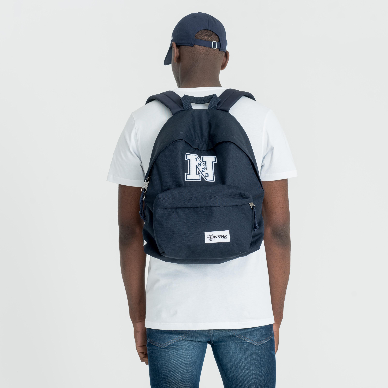 91cb3f2e731 New Era X Eastpak Padded Pak'R Navy Backpack | New Era