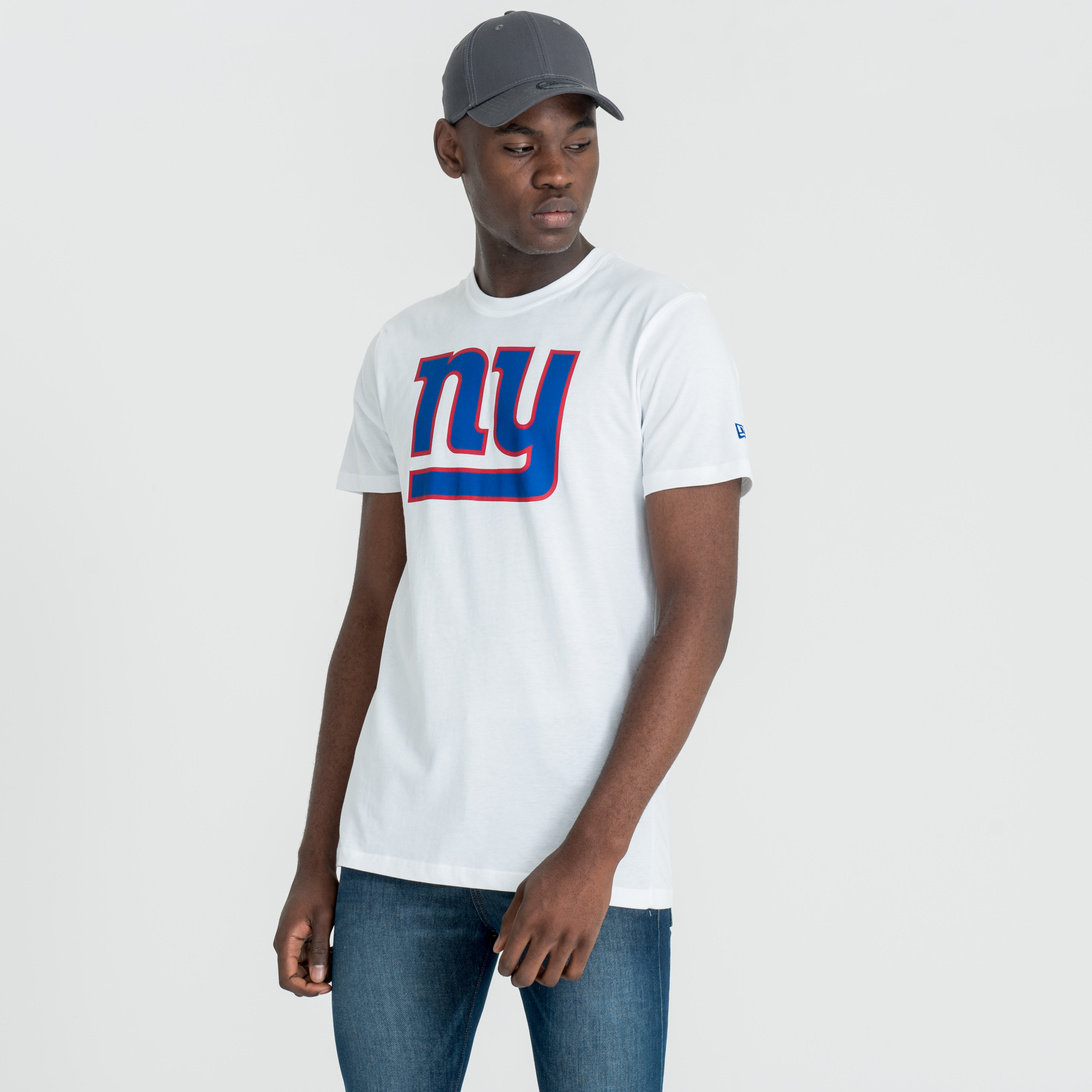 New York Giants Team Logo White Tee