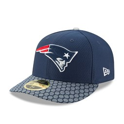 New England Patriots 2017 Sideline Low Profile Navy 59FIFTY