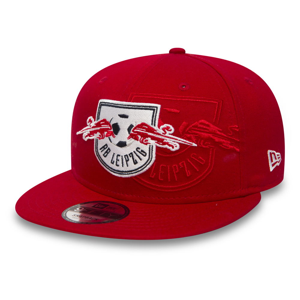 05a92d2bdae ... RB Leipzig Crown Print 9FIFTY Red Snapback