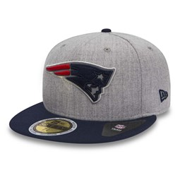 New England Patriots Essential Heather Grey 59FIFTTY
