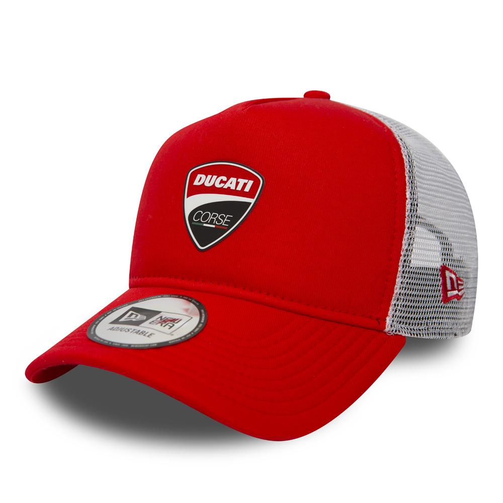 b9ae12392f3e8 Ducati Corse Red A Frame Trucker