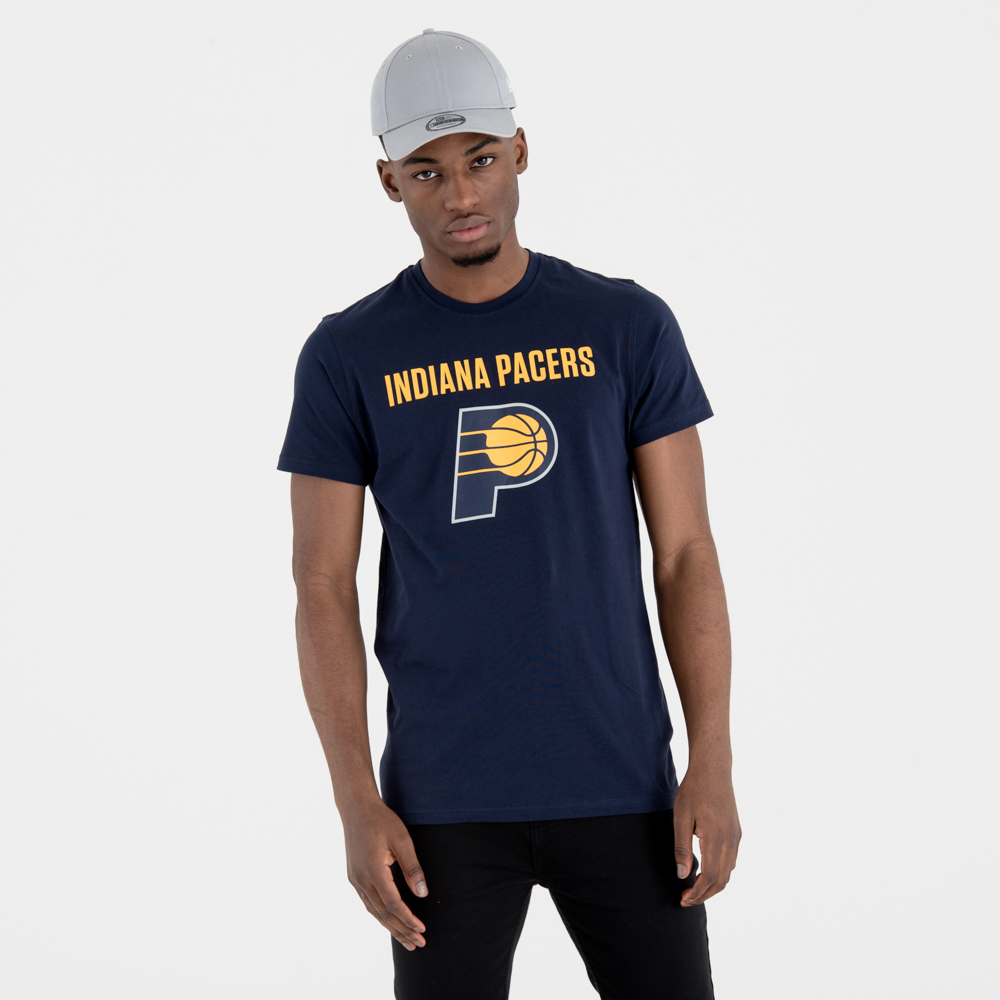 Indiana Pacers Team Logo Navy Tee