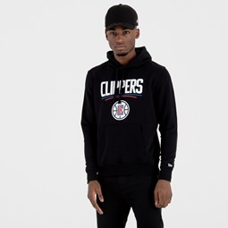 Los Angeles Clippers Team Logo Black Pullover Hoodie