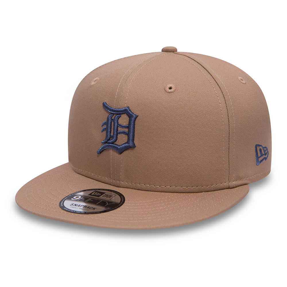 timeless design f5615 ab2a8 Detroit Tigers Essential 9FIFTY Camel Snapback