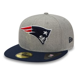 New England Patriots Heather Grey 59FIFTY