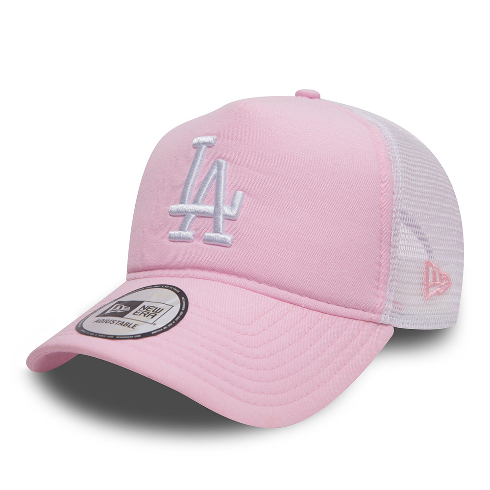 65c1ba98e Los Angeles Dodgers Oxford Pink A Frame Trucker