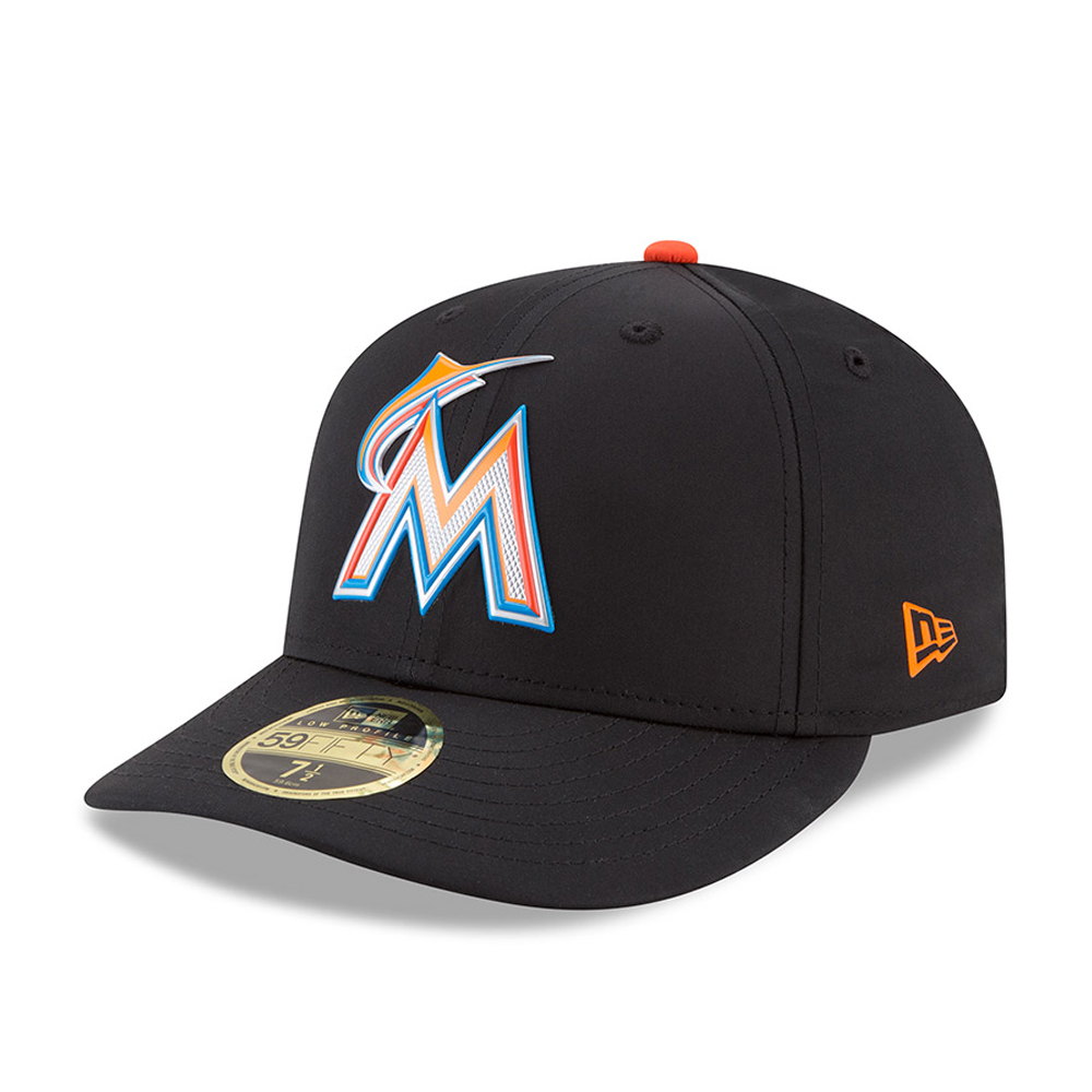 size 40 bf92d 97a4e Miami Marlins Batting Practice Low Profile 59FIFTY