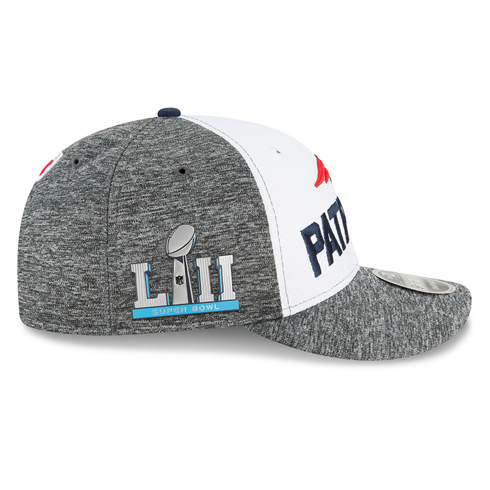 e4721ba0d92 ... New England Patriots Super Bowl LII Sideline 9FIFTY Snapback