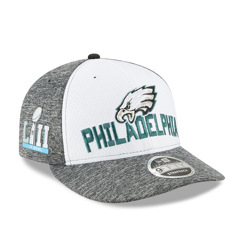 9340908c9 Philadelphia Eagles Super Bowl LII Sideline 9FIFTY Snapback