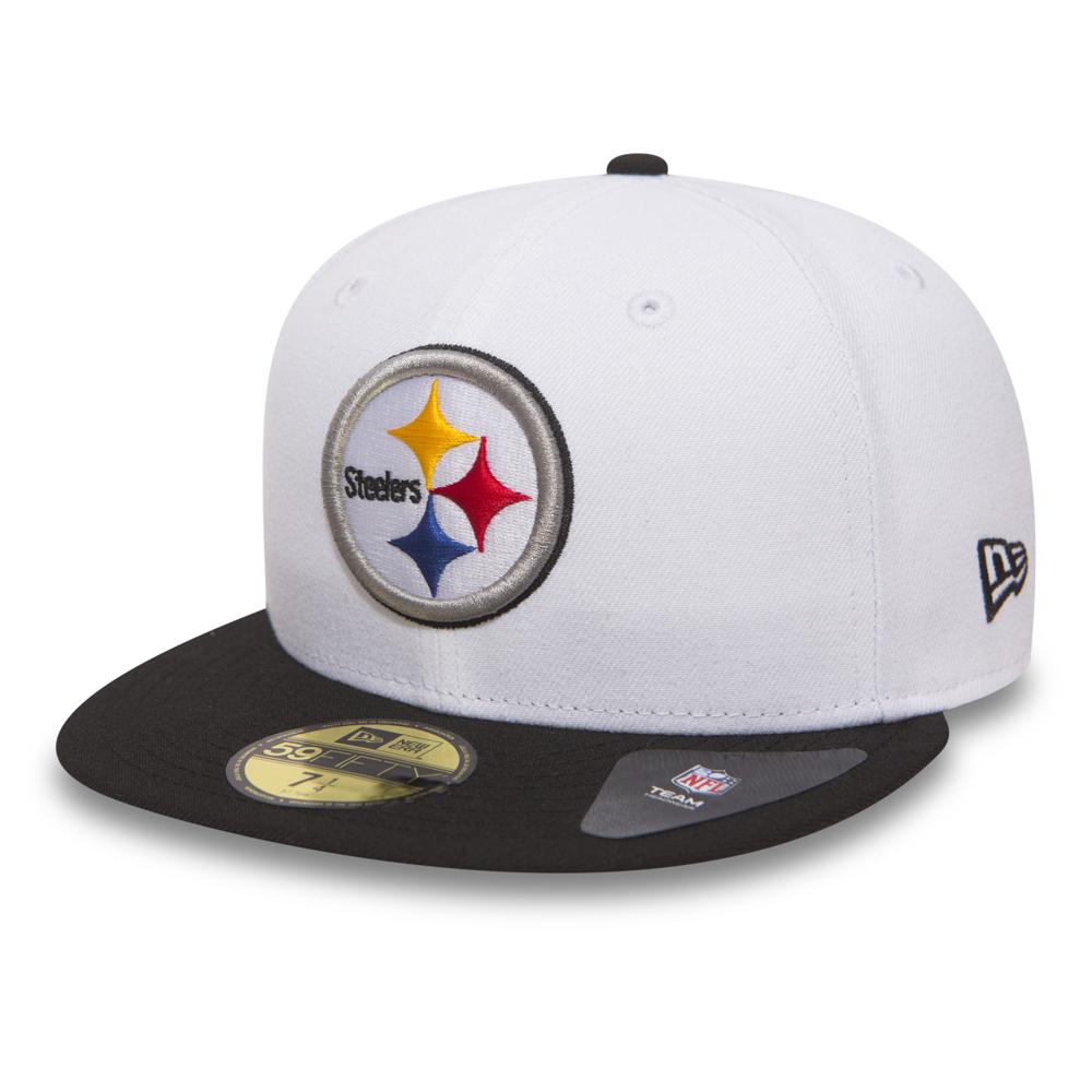 Pittsburgh Steelers White 59FIFTY