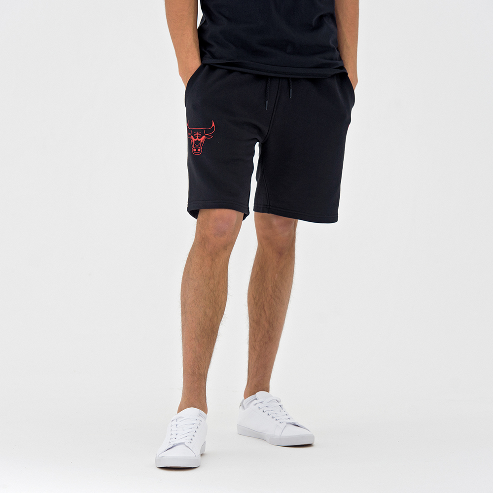 Chicago Bulls Pop Logo Black Shorts