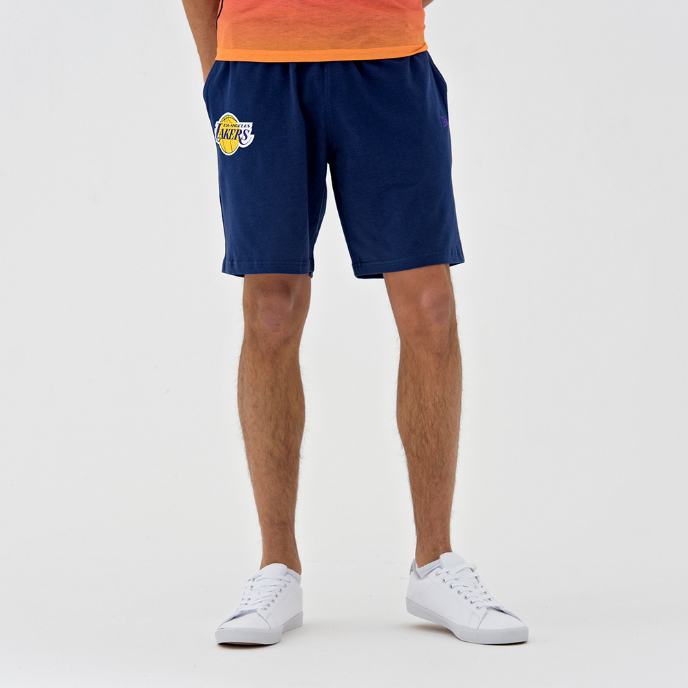 39e3e10e029 Los Angeles Lakers Coastal Heat Navy Shorts