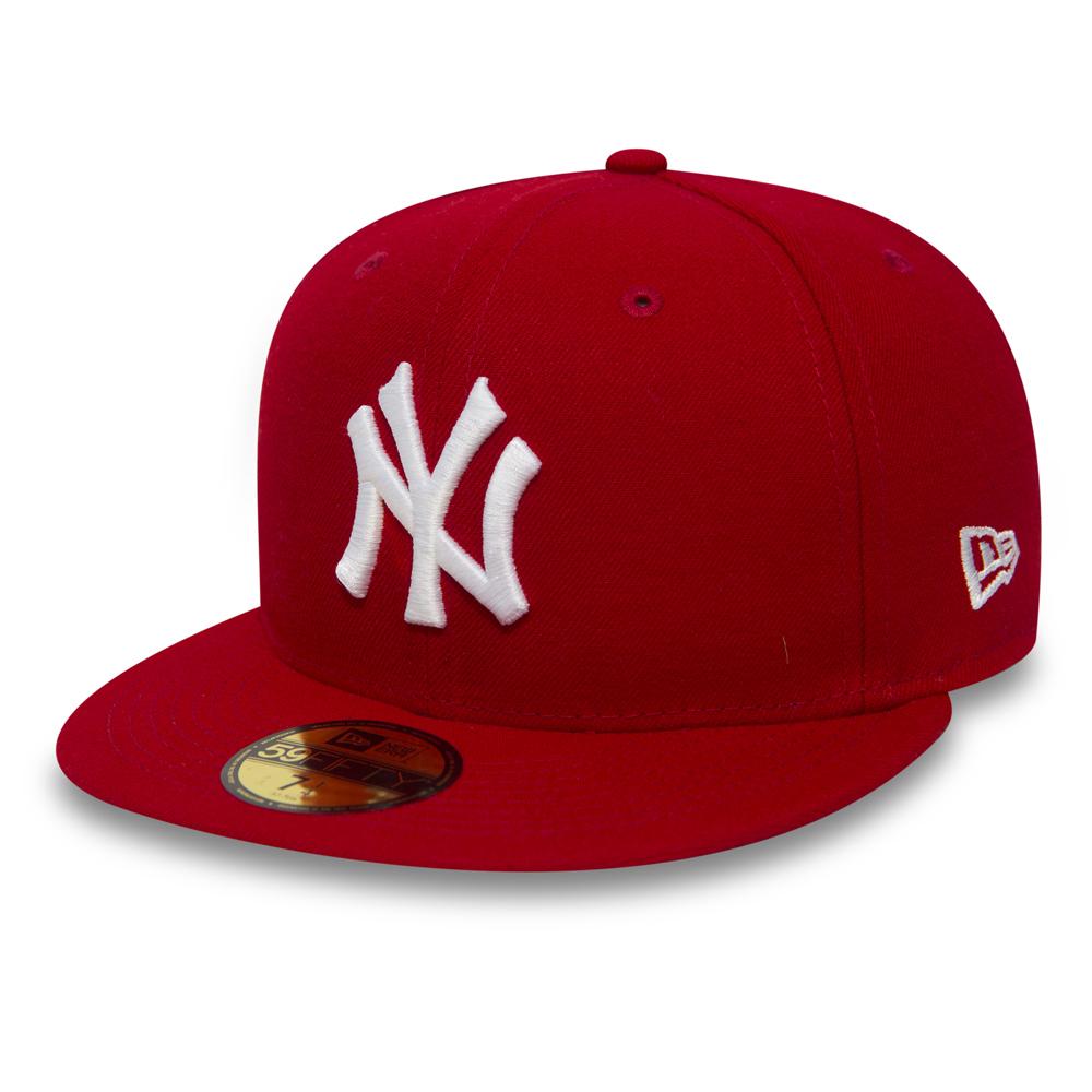NEW ERA NEW YORK YANKEES ESSENTIAL RED 39THIRTY