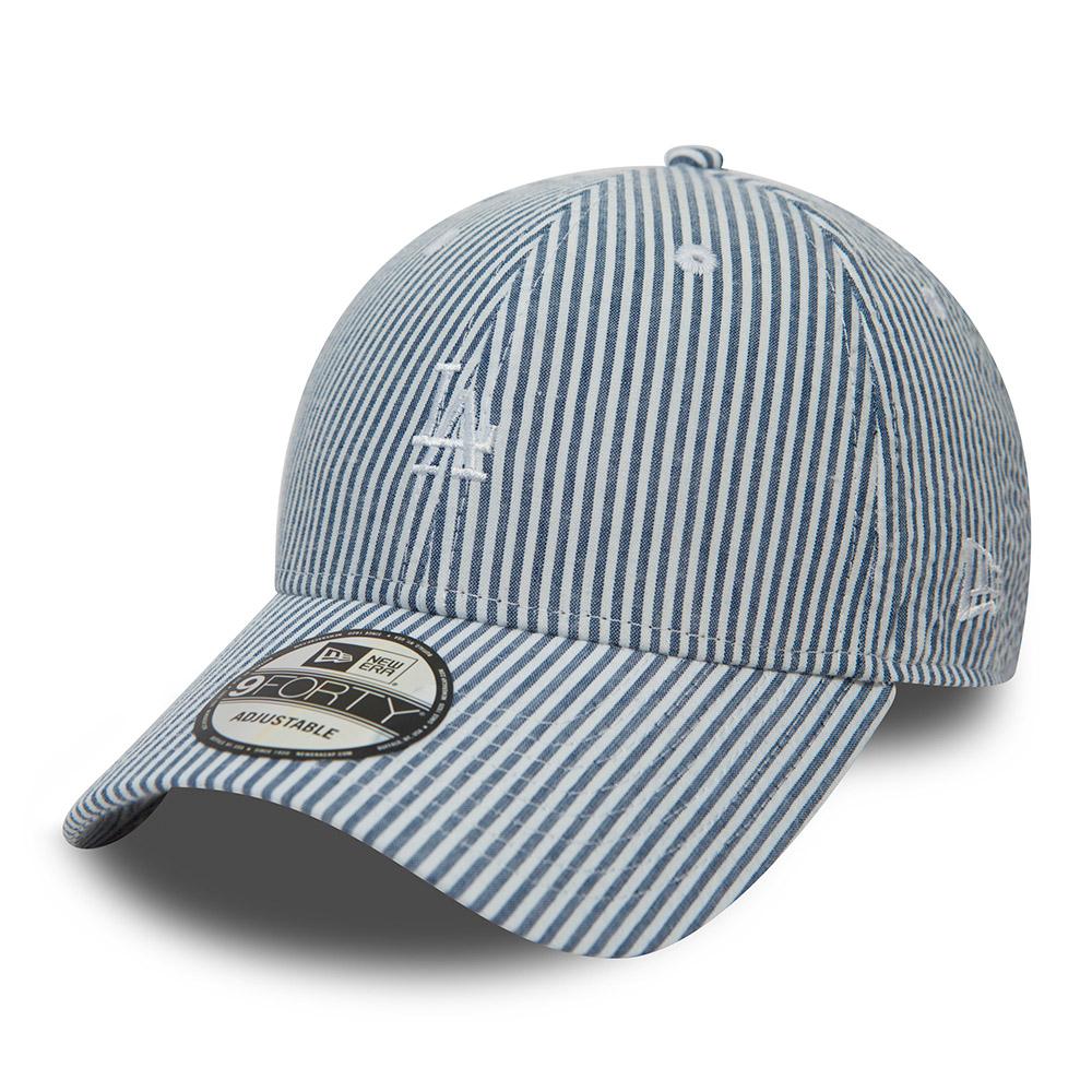 Los Angeles Dodgers schwarz New Era Adjustable Trucker Cap