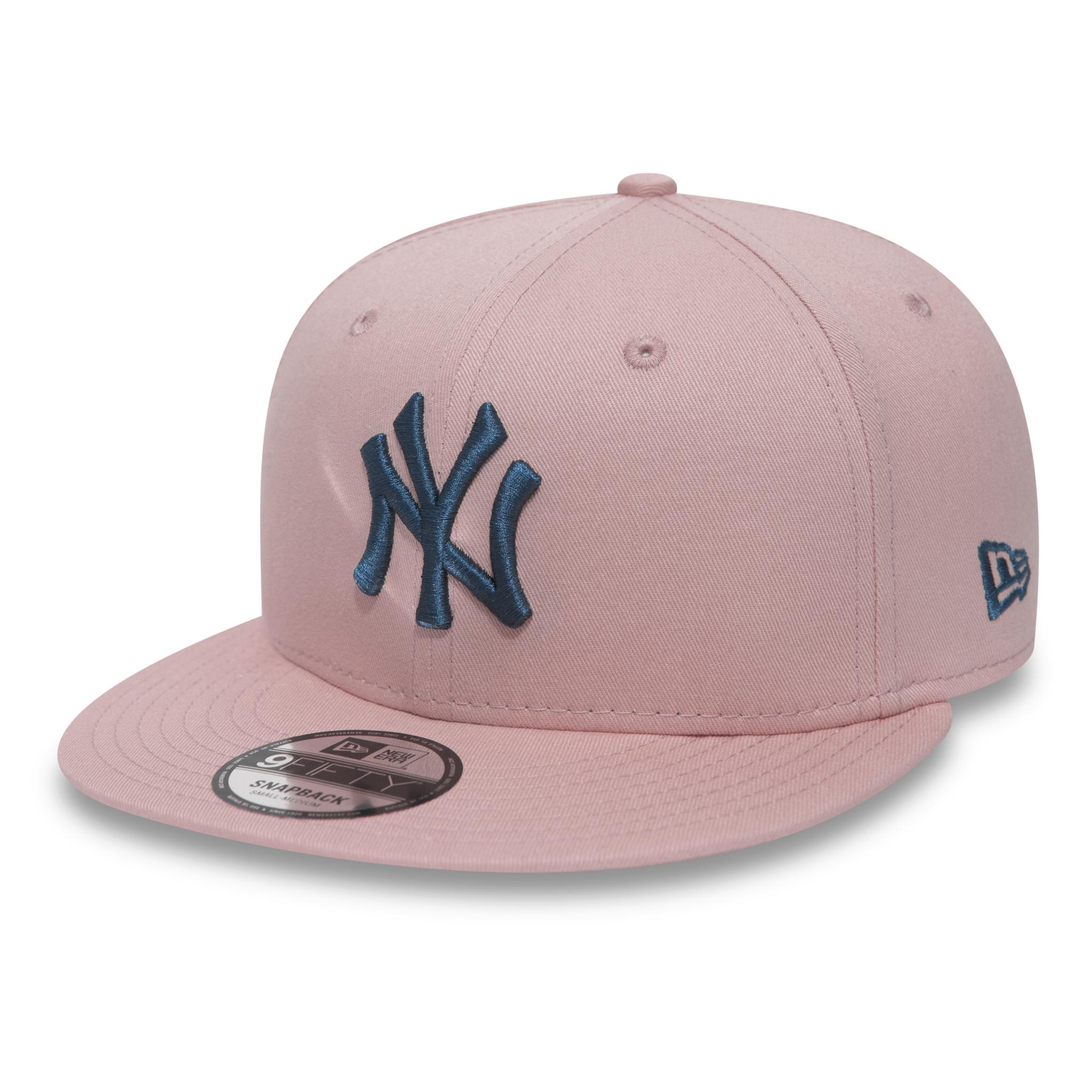 f77f32c085b7a New York Yankees Essential Pink 9FIFTY Snapback