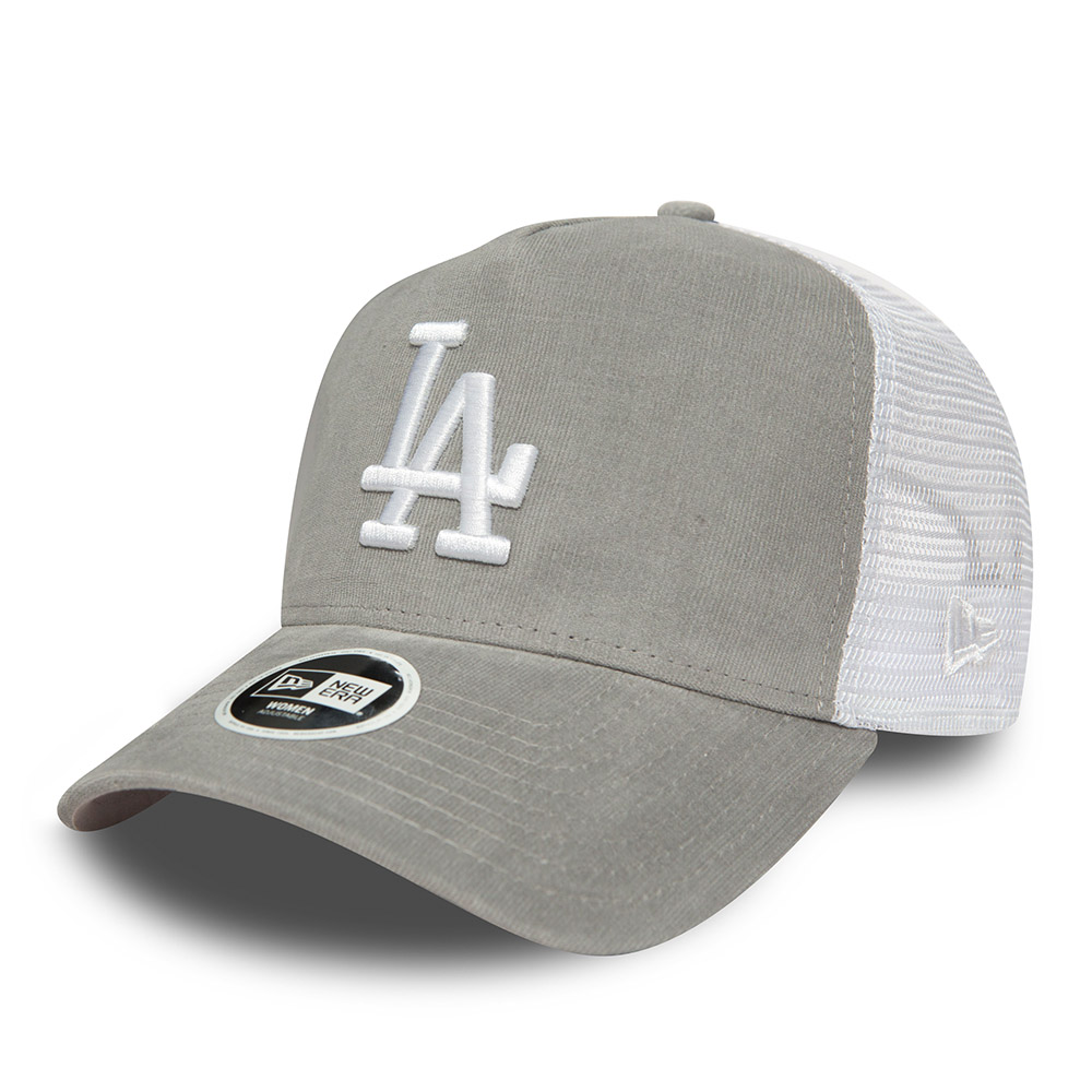 Los Angeles Dodgers Micro Cord Womens A Frame Trucker  58b2197dac9