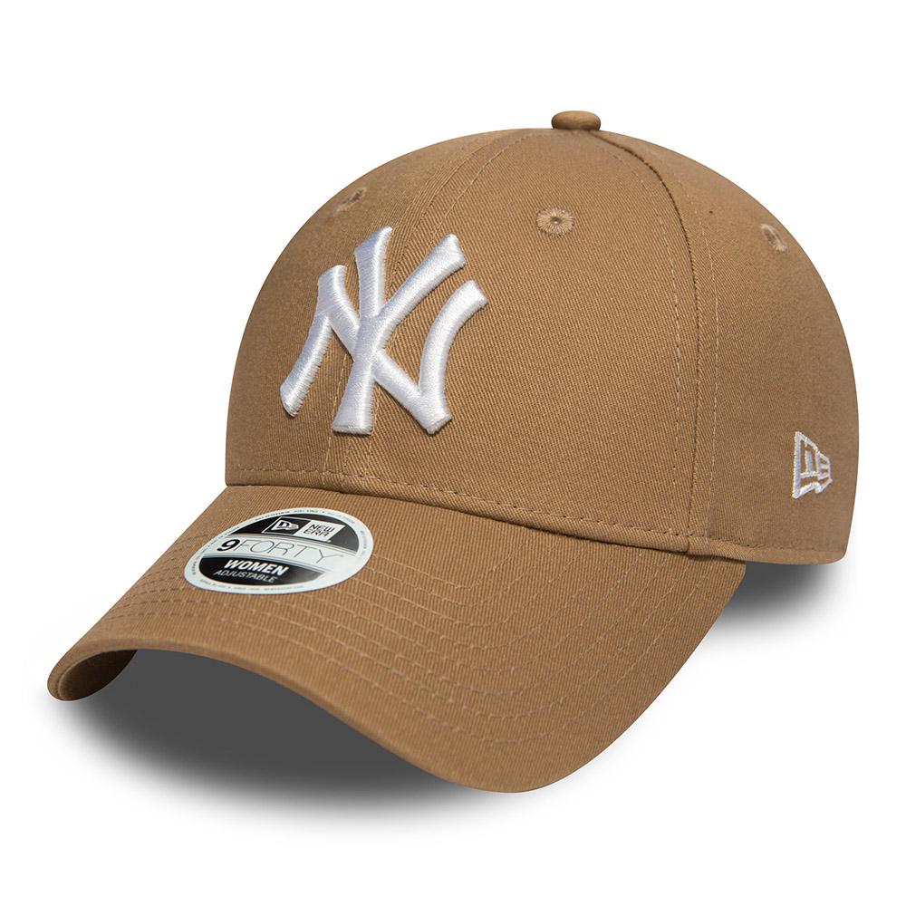 New York Yankees Essential Khaki Womens 9FORTY  8ea4a952c1d