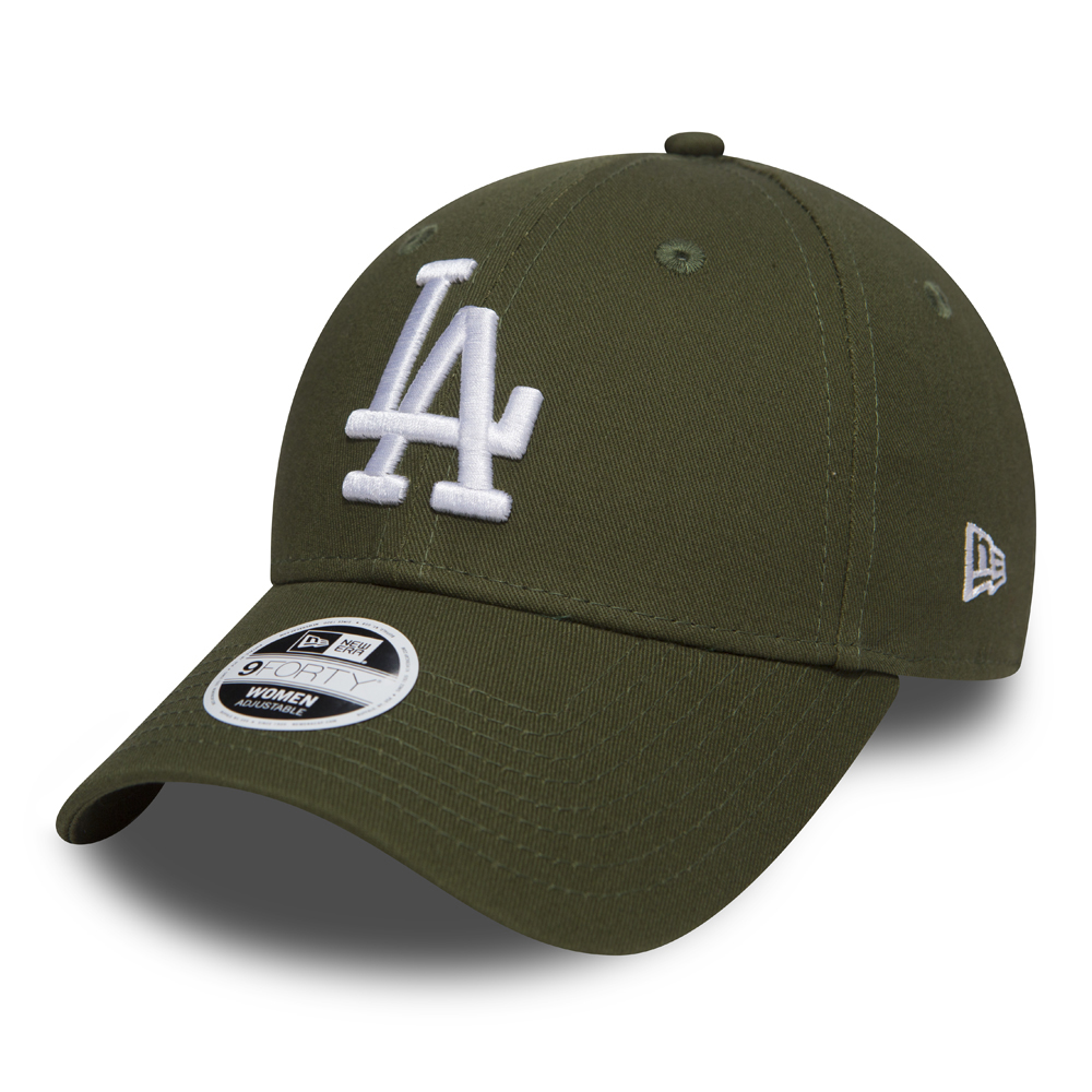 Los Angeles Dodgers Essential Rifle Green Womens 9FORTY
