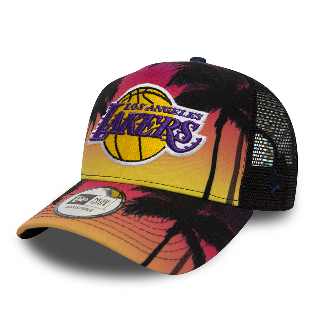 ade11c8e593 Los Angeles Lakers Coastal Heat A Frame Trucker