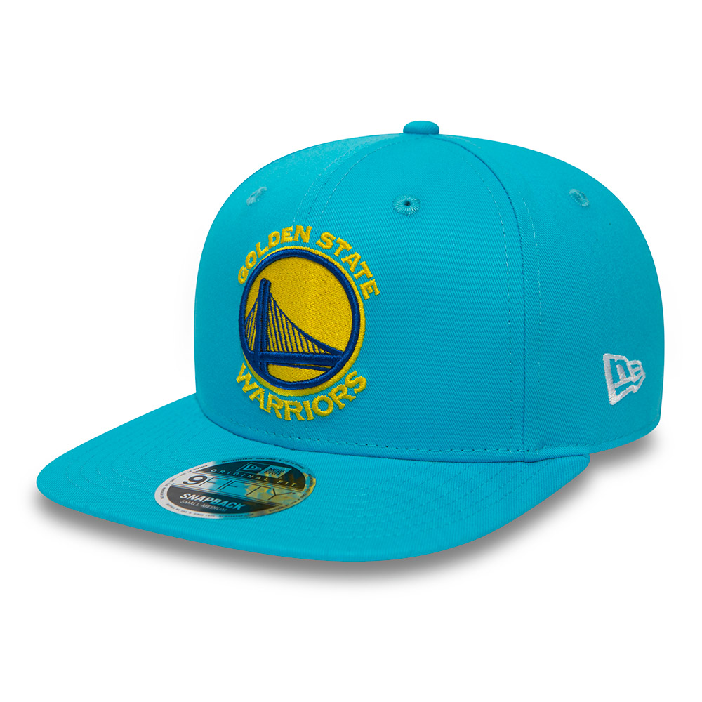 the latest b999f ad49a Golden State Warriors Coastal Heat Original Fit 9FIFTY Vice Blue Snapback