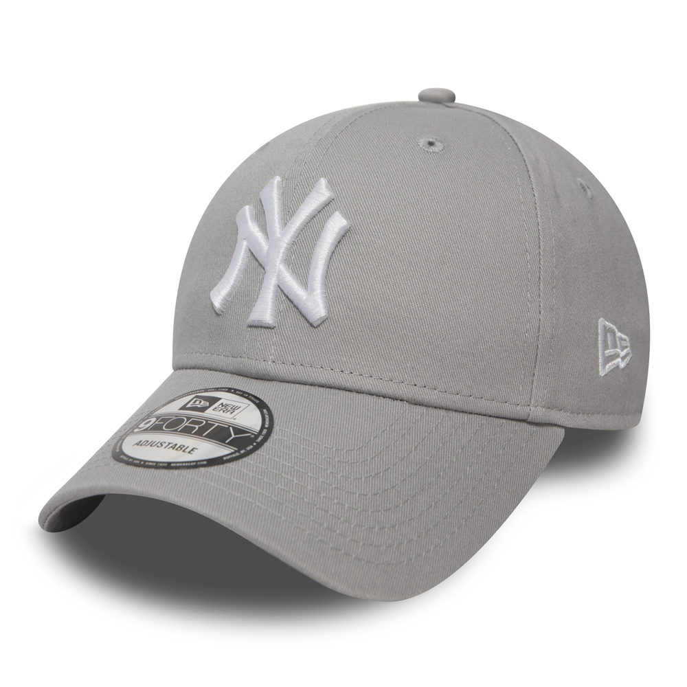 the best attitude f2f18 279f7 NY Yankees Essential Grey 9FORTY