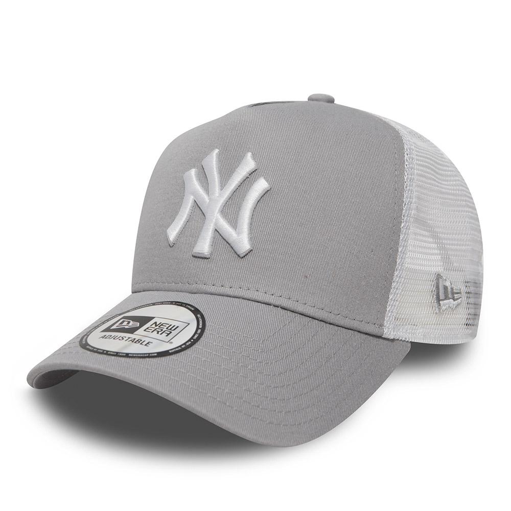 New York Yankees Clean A Frame Grey Trucker  8ee33cbe5d