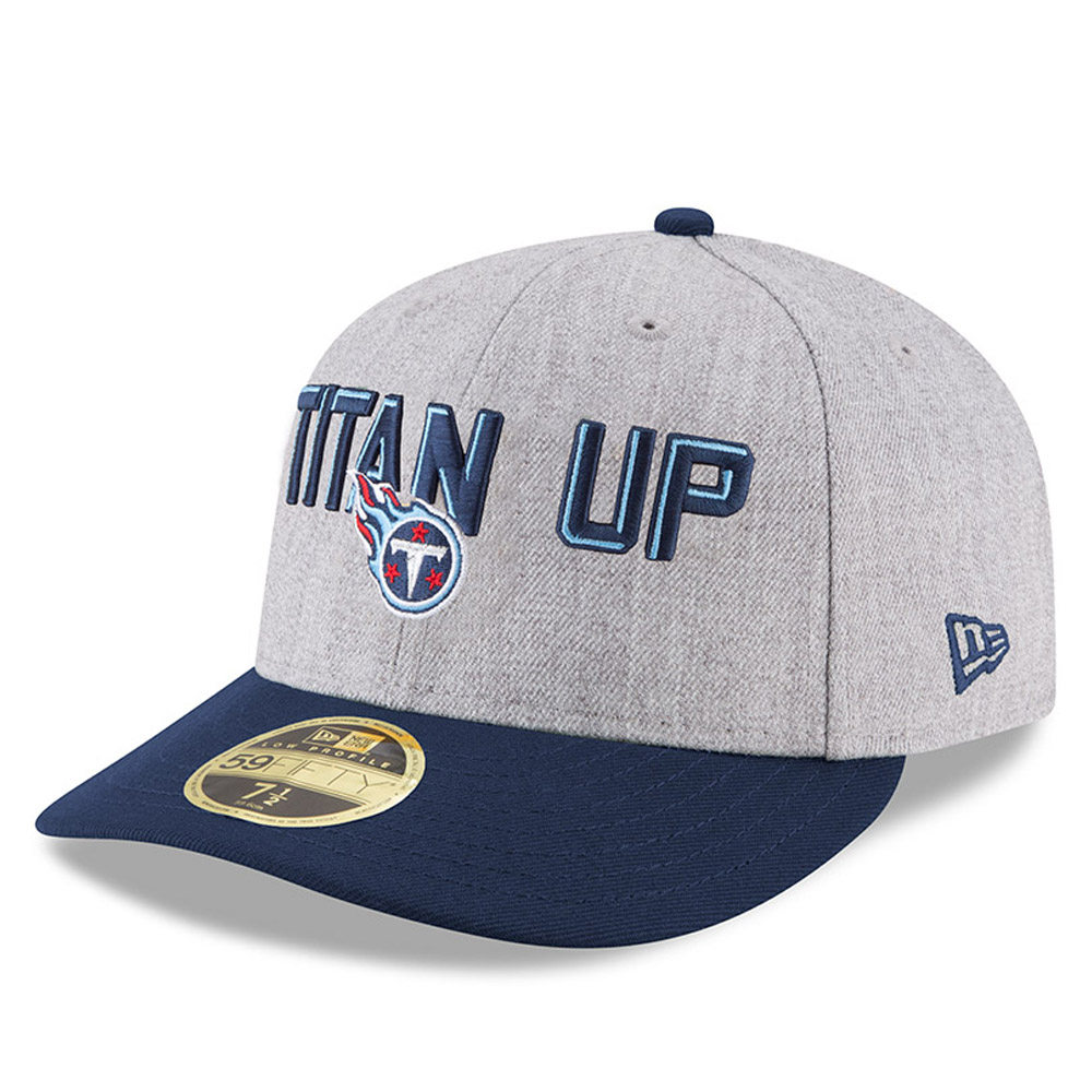 sports shoes 90278 a1182 ... Tennessee Titans 2018 NFL On-Stage Draft Low Profile 59FIFTY