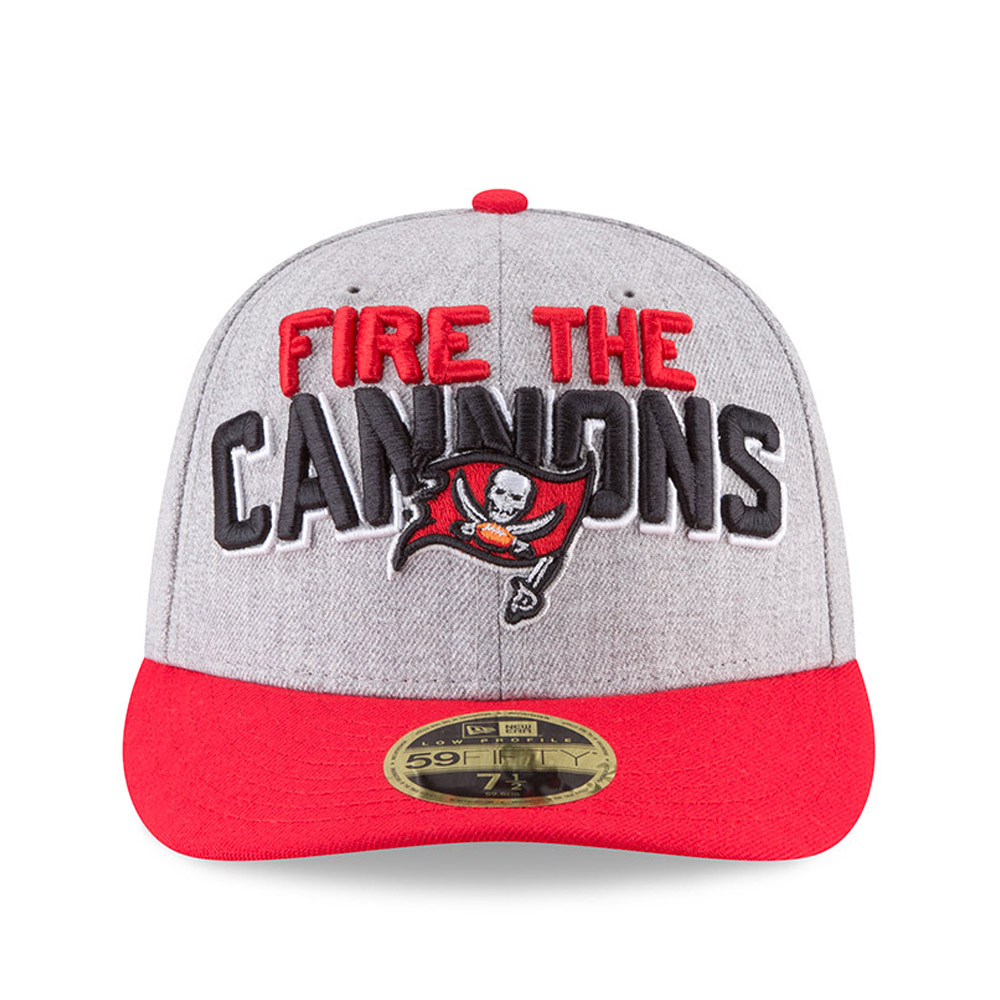 timeless design 2e2cd 2b25f ... Tampa Bay Buccaneers 2018 NFL On-Stage Draft Low Profile 59FIFTY